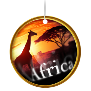 Car Freshener Continents Africa