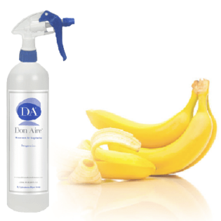 Ambientador Spray Banana Tropical 750ml.