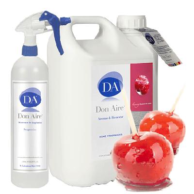 Ambiendor Spray Manzana Caramelizada 5 litros.