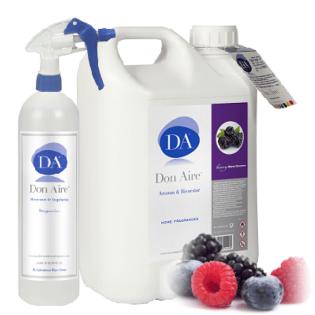 Ambientador Spray Moras Silvestres 5 litros.
