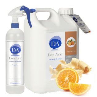 Parfum d'ambiance Spray Orange Cèdre 5l