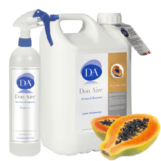 Ambiendor Spray Papaya 5 litros.