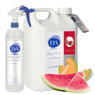 Ambientador Spray Sandía y Melón 5 litros.
