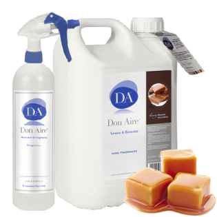 Parfum d'ambiance Spray Toffee 5 litres.