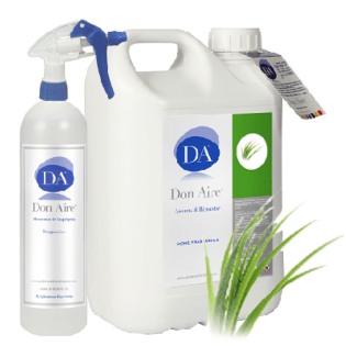 Ambientador Spray Vetiver Verde 5 lts