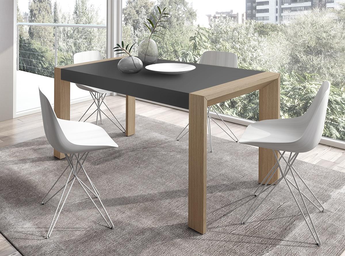 Mesa de comedor albus comedores muebles la f brica for Mesas de comedor rectangulares