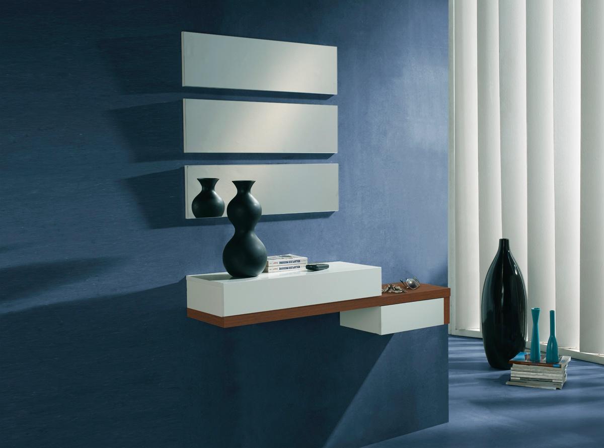 Recibidor aruba muebles de salon muebles la f brica - Recibidor moderno blanco ...