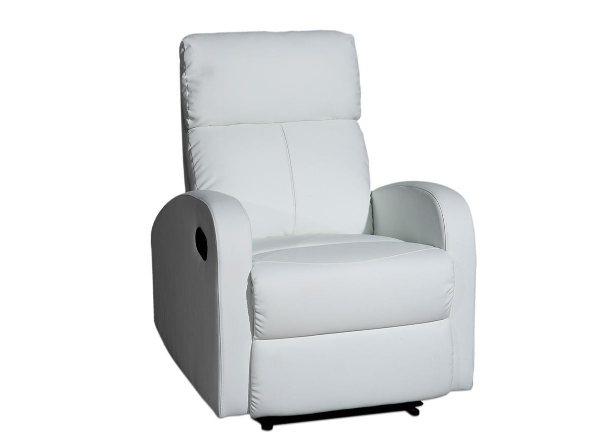 Sill n avon sofas y sillones muebles la f brica for Sillon reclinable blanco