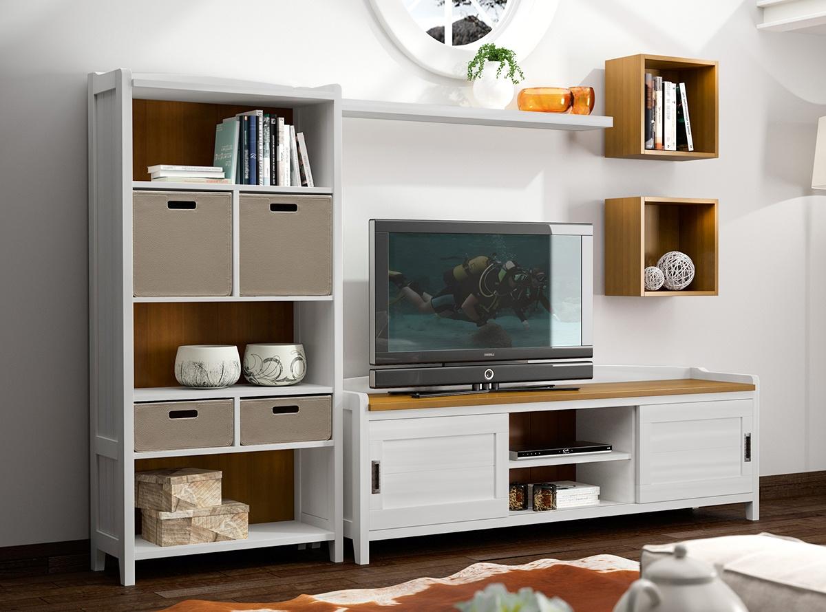 Mueble de salon brist salones muebles la f brica for Armarios muebles la fabrica