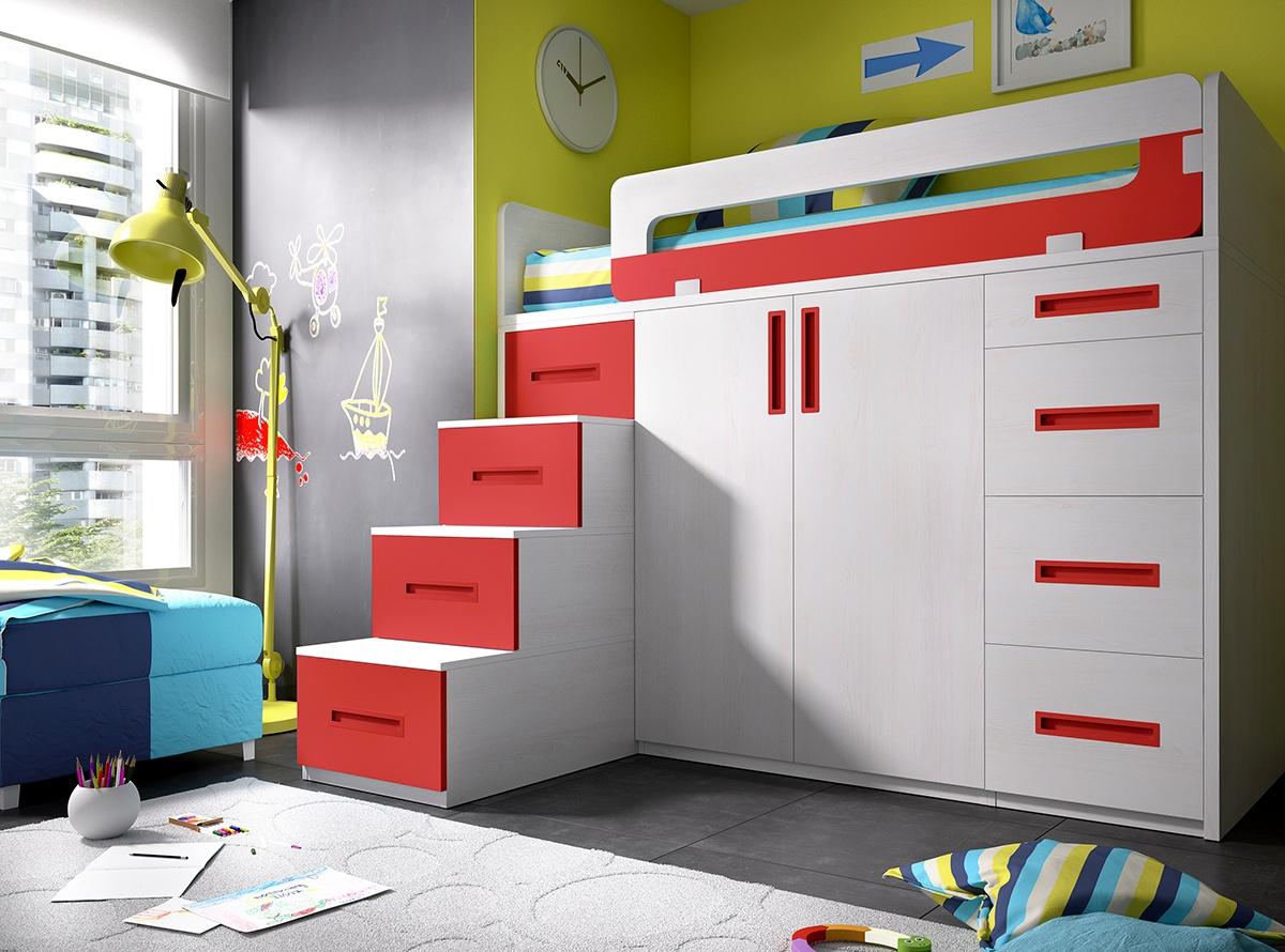 Dormitorio CAMPUS I - Habitaciones Juveniles | Muebles La Fábrica
