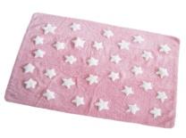 Rosa con estrellas blancas