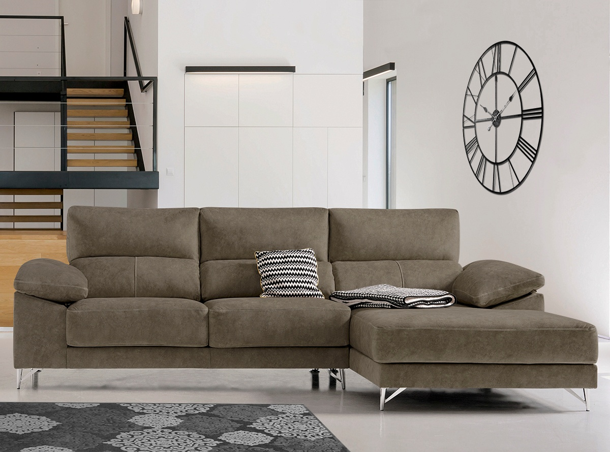 Chaise longue dinamarca sofas y sillones muebles la for Muebles dinamarca