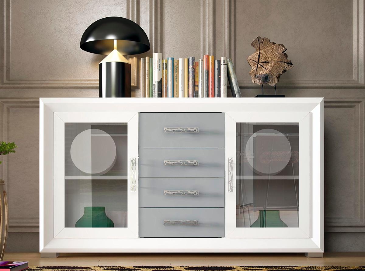 Aparador flavia muebles de salon muebles la fabrica for Muebles blancos ikea