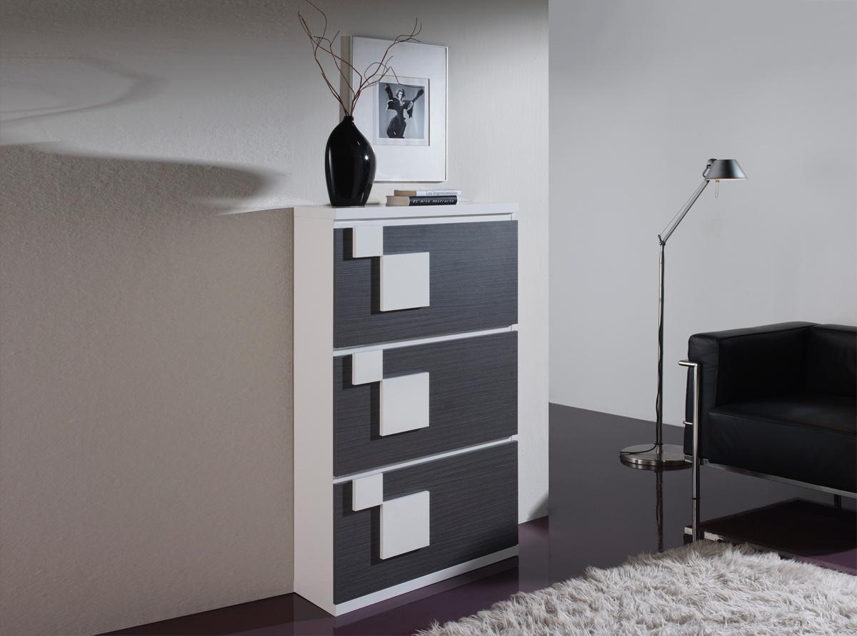 Zapatero gambia 3 muebles auxiliares muebles la f brica for Muebles la fabrica precios