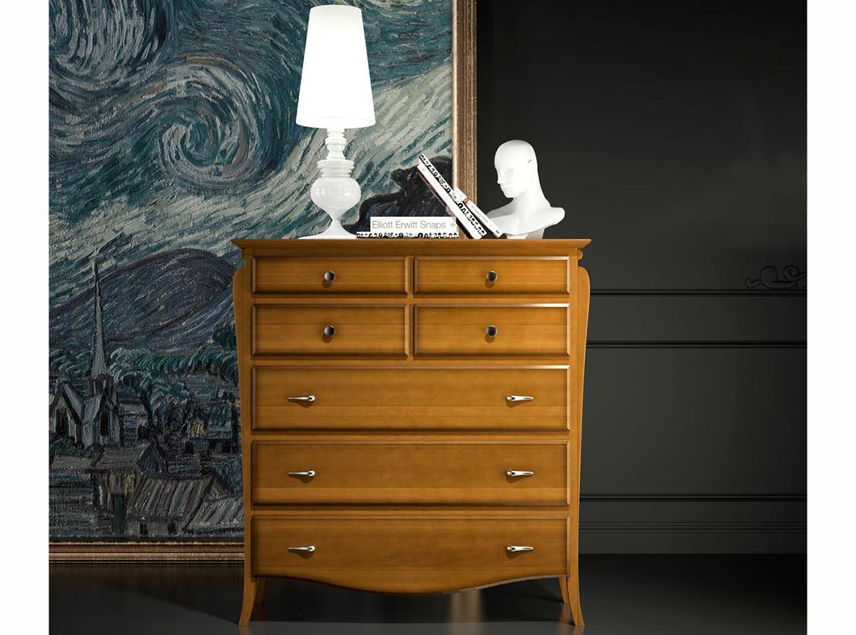Comoda hugo muebles auxiliares muebles la fabrica - Muebles la fabrica valencia ...
