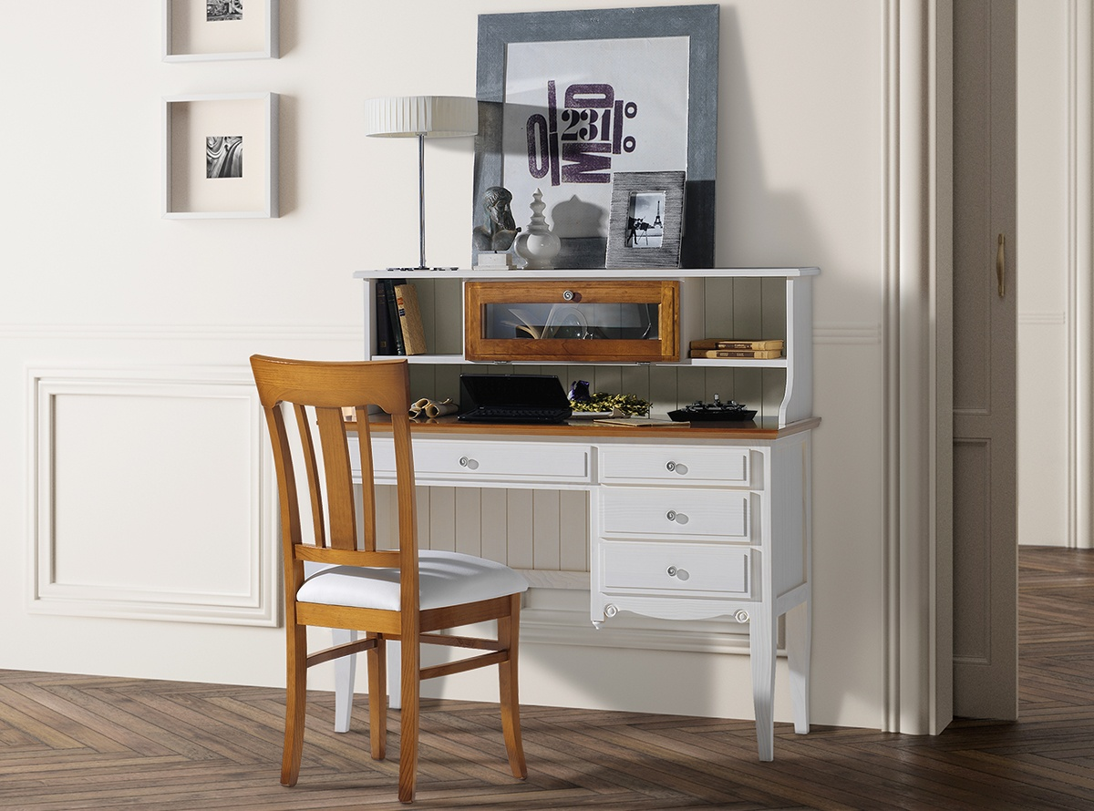Escritorio jerian muebles auxiliares muebles la fabrica for Muebles de oficina ibiza