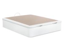 Blanco, polipiel blanca y 3D beige