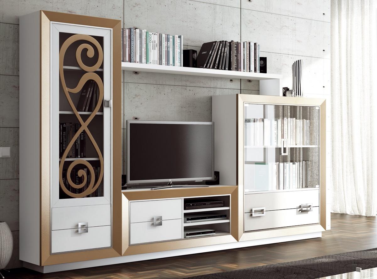 Mueble de salon mileto salones muebles la f brica for Fabricantes de muebles de salon