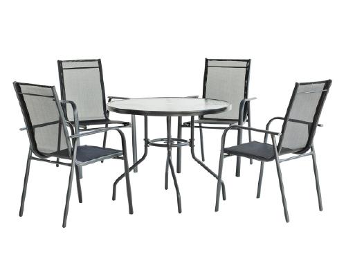 Muebles de jard n muebles la f brica for Mesas y sillas de jardin baratas