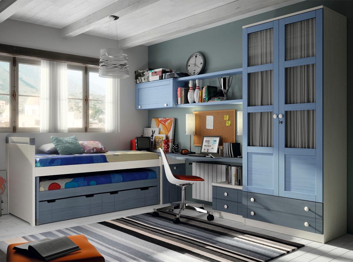 Dormitorio mitas habitaciones juveniles muebles la f brica - Dormitorios juveniles mallorca ...
