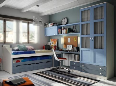 Dormitorio mitas habitaciones juveniles muebles la f brica for Malga muebles
