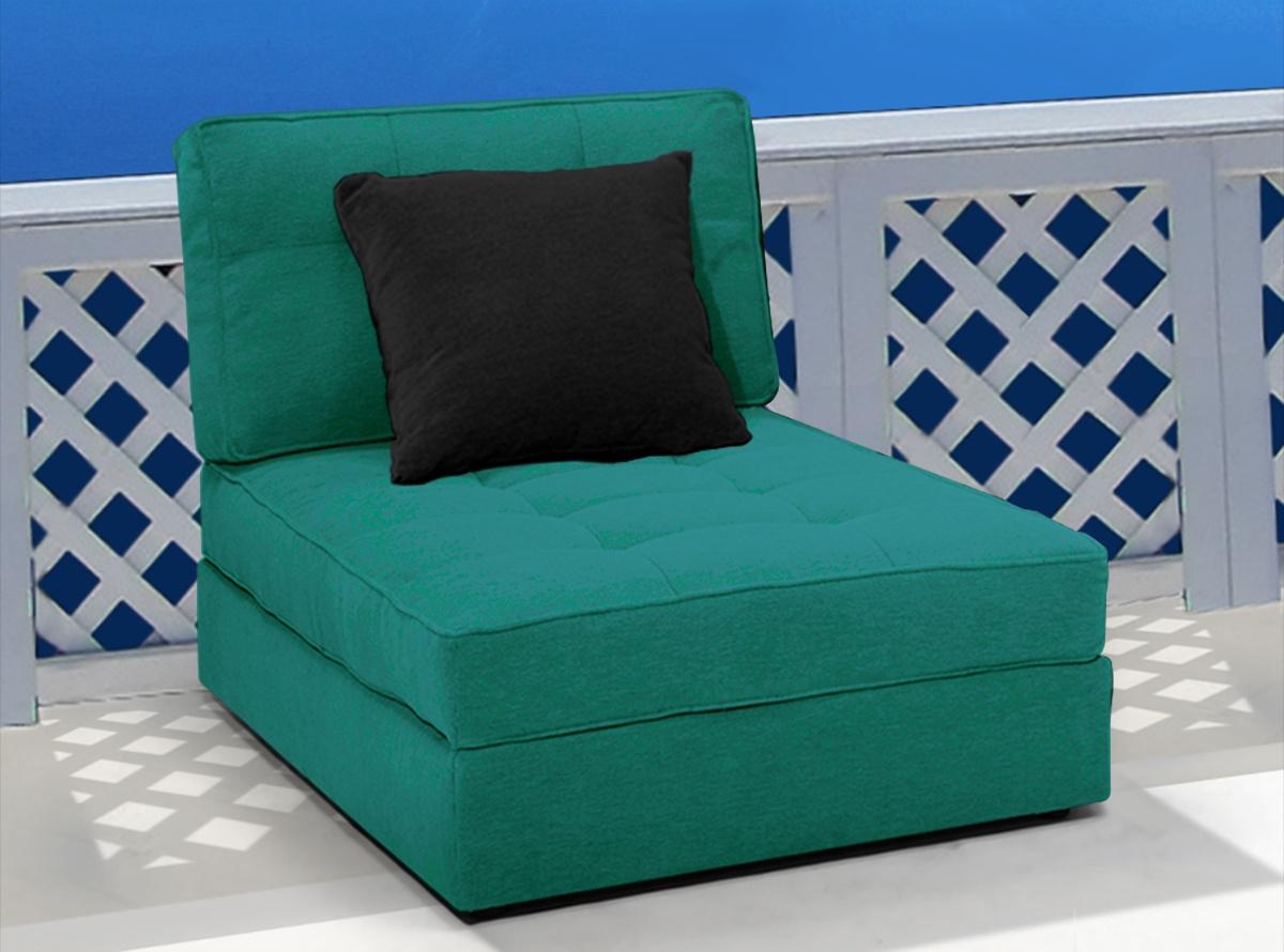 Sofa chaise longue mondrian sofas y sillones muebles for Chaise longue azul turquesa