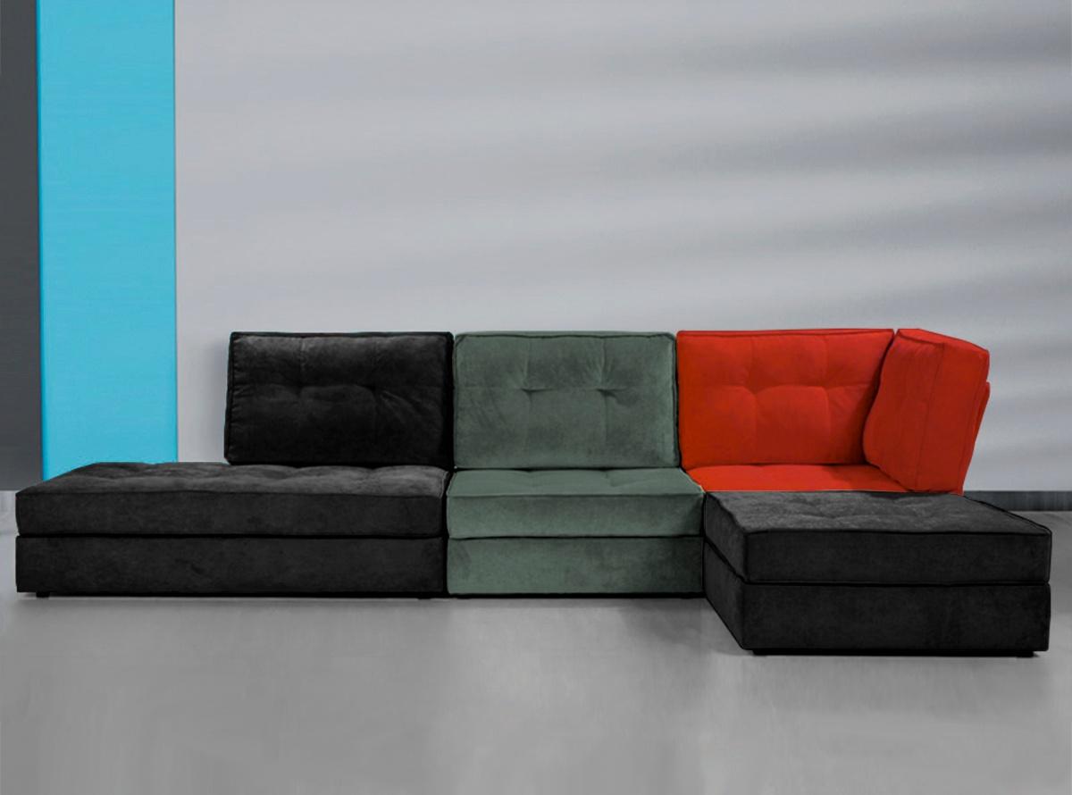 Chaise longue mondrian sofas y sillones muebles la f brica for Muebles la fabrica sofas cama