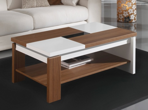 Mesa niger mesas de centro muebles la f brica for Malga muebles