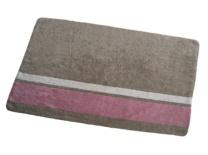 Piedra con franja beige-rosa