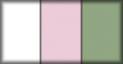 Blanco, rosa y veronese