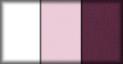 Blanco, rosa y tejido purpura