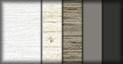Blanco disset, canyon, nogal, titanio y gris vulcano