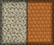 Color piedra y detalles naranja