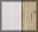 Blanco con veta y bambú