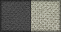 Tela en negro y gris