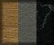 Roble, gris y mármol negro