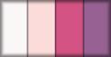 Blanco, rosa, fucsia y mora