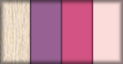 Roble, mora, fucsia y rosa