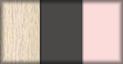 Roble, pizarra y rosa