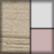 Nuez, blanco y rosa