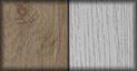 Acacia y gris pardo (metal en negro)