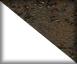 Cerámica Iron Corten y laca blanco