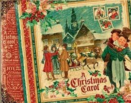 Colección Christmas Carol de Graphic45