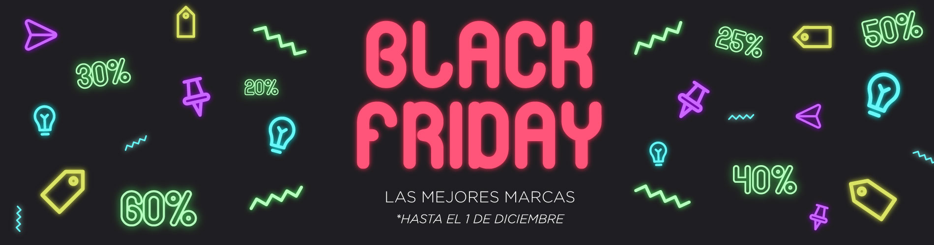 ¡Descuentos marcas BLACK FRIDAY!