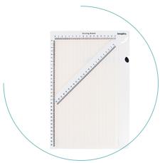 Base multiusos - 22x34cm.<br>¡Crea sobres y cajas en un plis!</br>