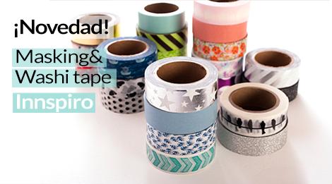 ¡Novedad! Masking & washi tape Innspiro