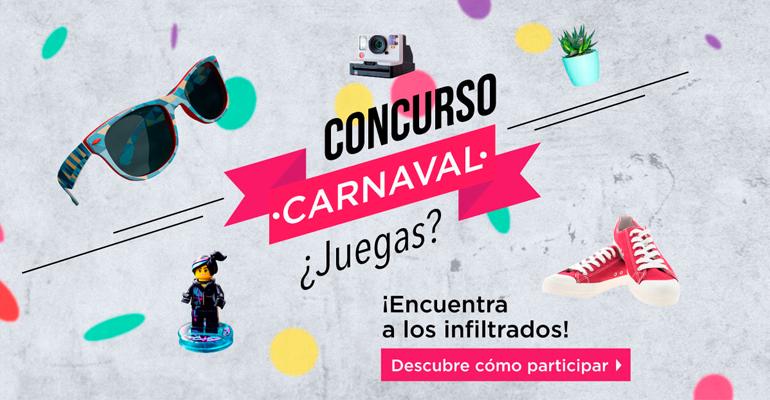 ¡Concurso de Carnaval en la Shop de Innspiro!