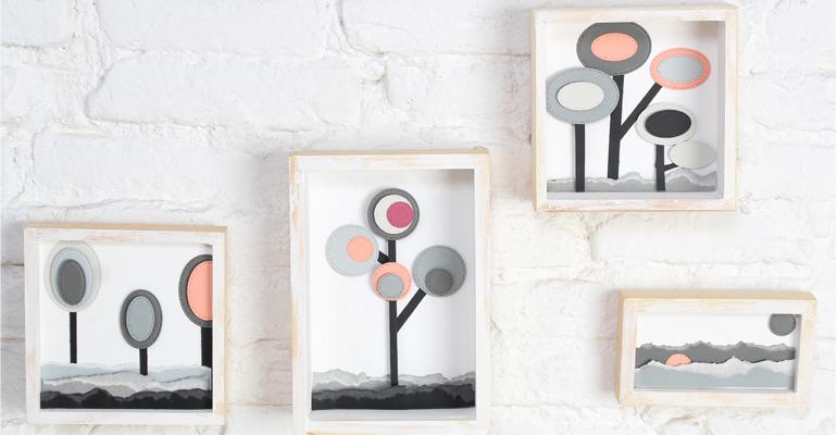Cómo crear decoraciones y paisajes de papel con la troqueladora Misskuty by Innspiro