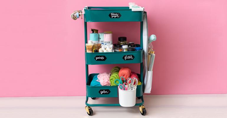 Almacena tus materiales de manualidades, scrap, maquillaje y mucho más...