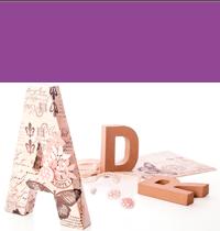 Letras, números y símbolos